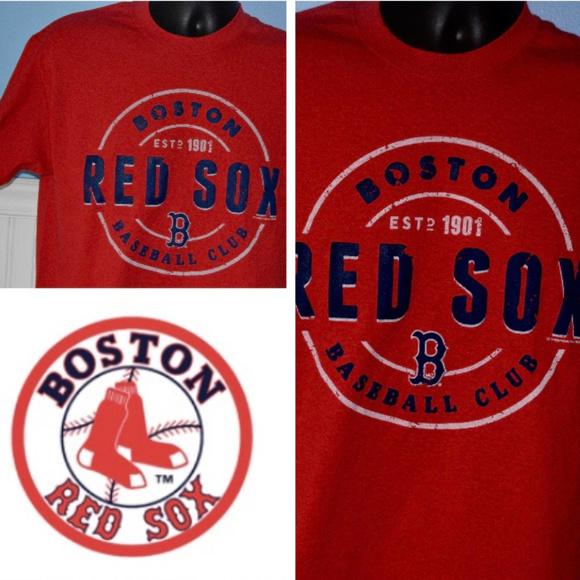 55bf972622e MLB BOSTON RED SOX T SHIRT EST. 1901 BASEBALL CLUB